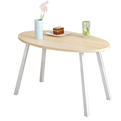 WBBZD Coffee Table, Maple Wood Simple Mini Side A Few Bedrooms Small Round Table Sofa Side Table Creative Bedside Table (Size : 10050m)