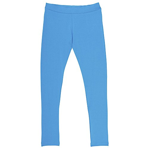 French Blue Apparel - French Toast Big Girls' Solid-Leggings, Vivid Blue, L (10/12)