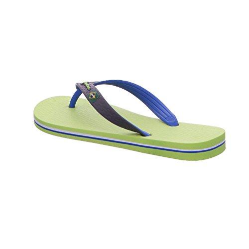 Ipanema Brazil Bicolor, Chanclas Unisex Adulto verde/azul
