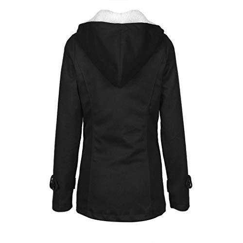Veste GY MEIbax Vent Manteau Confortable Chaud Long et Laine pour XL Caf Mode Mince Trench Chaud Femmes Coupe Outwear A7q7nv