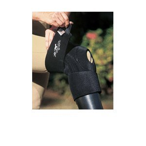 Professionals Choice Miracle Knee Support (Standard, Black)