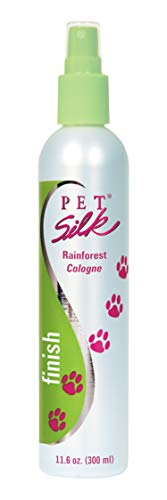 Pet Silk Rainforest Cologne (11.6 oz) - Dog Deodorant Perfume Body Spray with Conditioning & Deodorizing Qualities - Clean & Fresh Fragrance - Pet Grooming Perfume for Cats