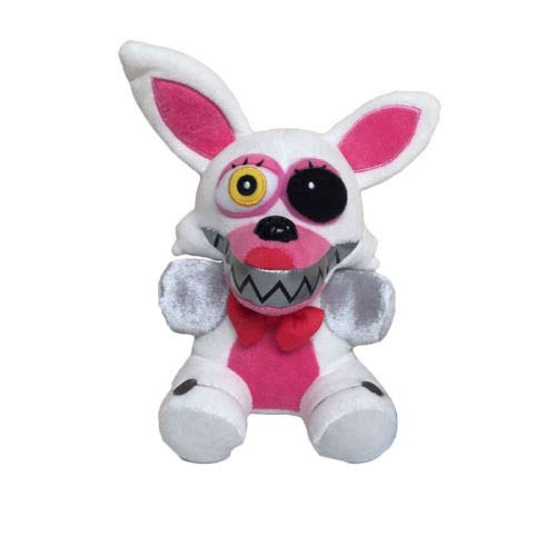 FAVORTOY Plush Toys Five Nights at Freddy's Sister Location Freddy Bear Bonnie Foxy Baby Ballora Clown Plush Stuffed Toys Doll Collectible Gift for Kids Children Birthday-1Pcs (Mangle) (Tmnt Out Of The Shadows Full Game)