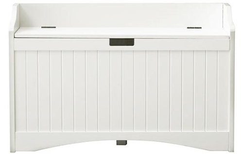 Fantastic Madison 36W Lift Top Storage Bench 36W White Amazon Co Caraccident5 Cool Chair Designs And Ideas Caraccident5Info