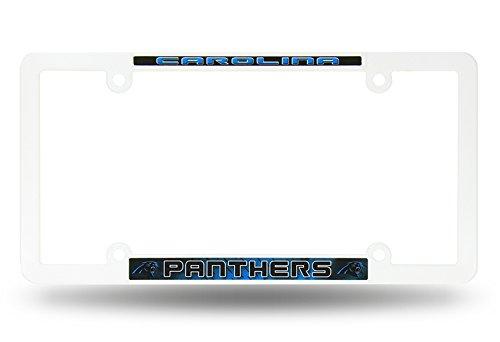 Infinity Stock NFL - 3D Plastic License Plate Frame 6.25