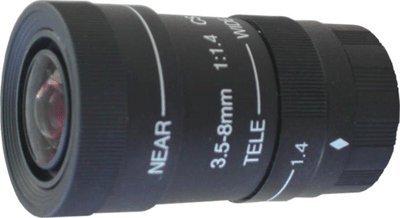Smart Security Club 3~8mm Varifocal Manual Iris Lens