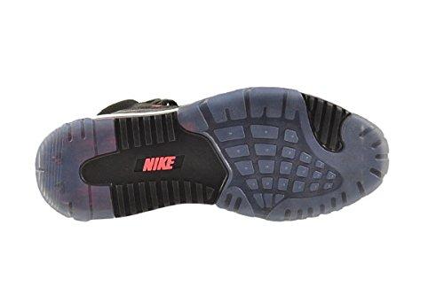 Nike Air Max Bo Jax Uomo Scarpe Nero / Nero-hyper Punch 654478-002