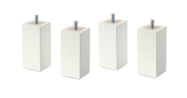 Amazon.com: IKEA stubbarp 4 patas de muebles – blanco – 4 ...