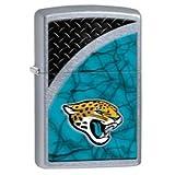 Zippo NFL Jacksonville Jaguars Street Chrome Pocket Lighter