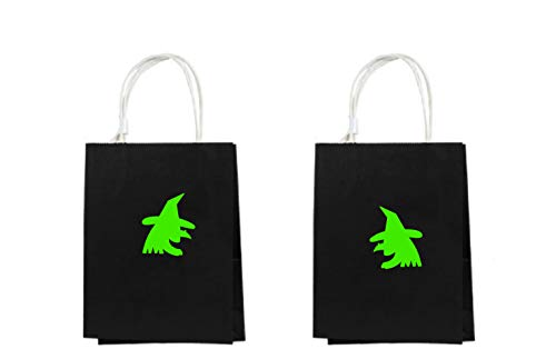 Moira Witch Decal Bags Halloween Festival Bags Fall Festival Bags Halloween Bags Trick or Treat Bags Trunk or Treat Prizes Halloween Festival ()