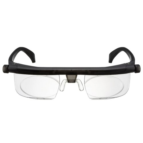 Adlens® Emergensee Variable Focus Eyeglasses - You Set the Magnification Grey