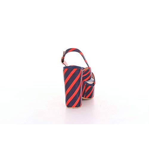 Essentiel Sandales Femme Et Antwerp Pesteban Rouge Bleu 8v80Bq