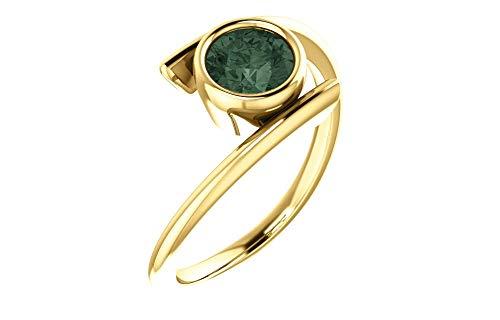 FB Jewels 14K Yellow Gold Chatham® Created Alexandrite - Ring Alexandrite Chatham Gold