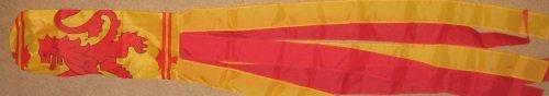 Lion Rampant Design (Wind Sock Scotland Lion Rampant Flag Design 1.5m Long)