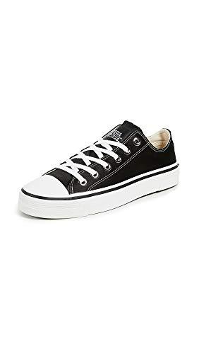 Marc Jacobs Women's Grunge Low Top Sneakers, Black, 39 M EU