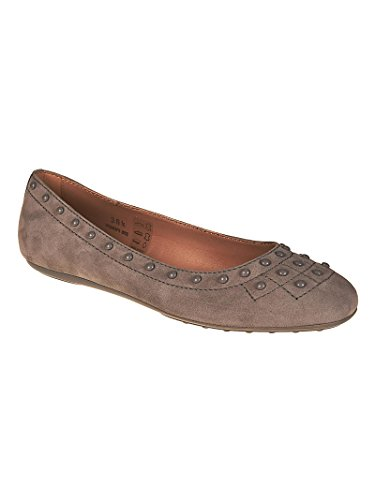 Donna Flats Suede Tod's Pebbles Grigio Zn6PAwvq