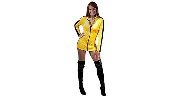 Amazon.com: Bruce Lee Juego de la muerte Sexy Amarillo ...
