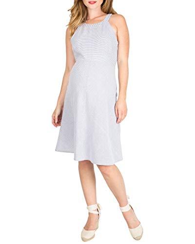 NOM Womens Molly Printed Maternity Dress, XS
