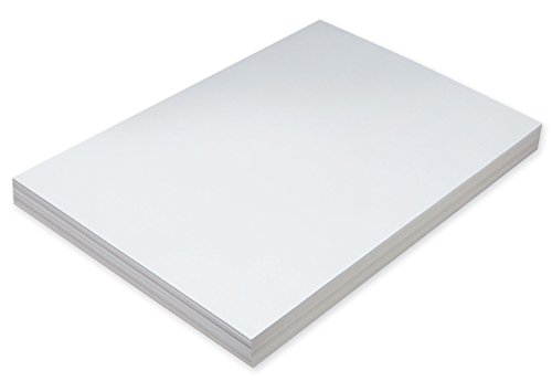 Pacon Super Heavyweight Tagboard, 12 x 18 in, White, Pack of 100
