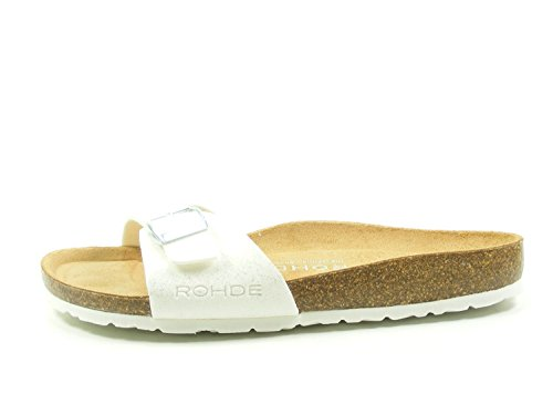 Rohde Alba 5629 Womens Thong Sandals White