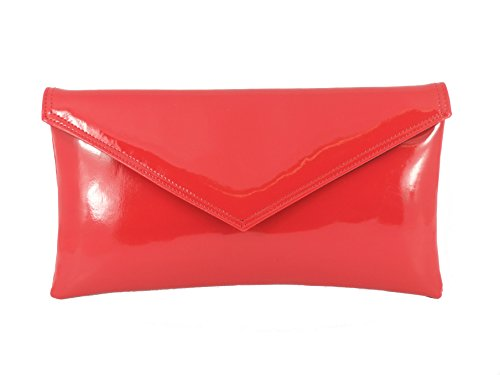 Tira De Rojo con Hombro Fiesta Bolso Diseño Para Mano Loni Sobre q5wIXFvv