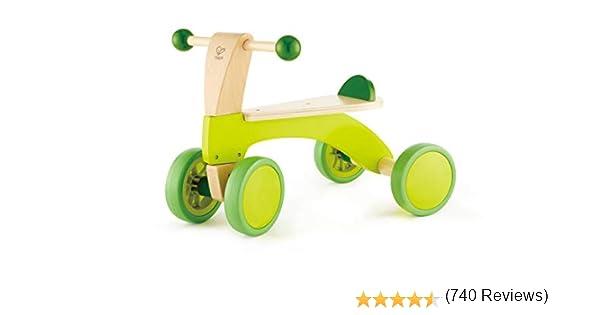 Hape Bici Bicicleta sin Pedales pequeña, Infantil, Verde: Amazon ...