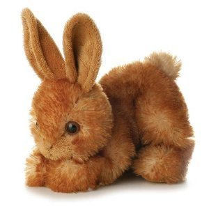 Aurora Bitty Rabbit Bunny Mini Flopsie 8 Plush Beanbag from Aurora