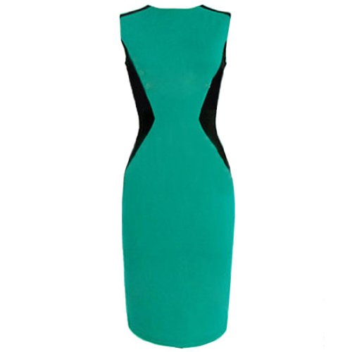 Eyekepper - Vestido - Noche - Sin mangas - para mujer Verde
