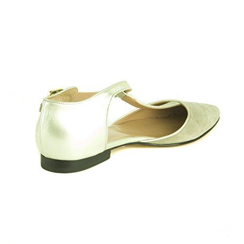 Women's Strap Pointed Sandals Grey Luisa Marina T Rinaldi gRwvS5Oqf