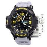 Casio G-Shock GA-1000-8A Aviation Series Men's Luxury Watch - Grey / One Size
