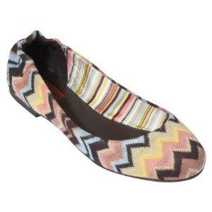 Missoni for Target® Girls Toddler Zig-Zag Ballet Shoe Flats, Venetian 13
