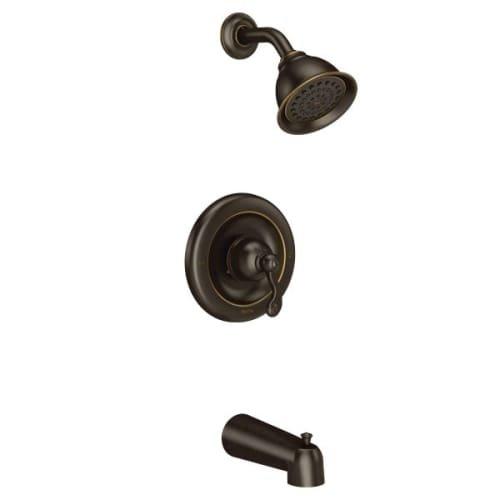 TRADITIONAL POSI T/S TRIM BRB / Mediterranean bronze Posi-Temp(R) tub/shower by Moen