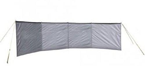 Windschutz Polyester Baumwolle - 500 x 150 - GRAU - VERTRIEB durch - Holly ® Produkte STABIELO ® - holly-sunshade ® - patentierte Innovationen im Bereich mobiler universeller Sonnenschutz - Made in Germany -