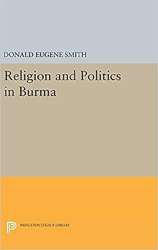 Smith Religion Politics Burma cover art