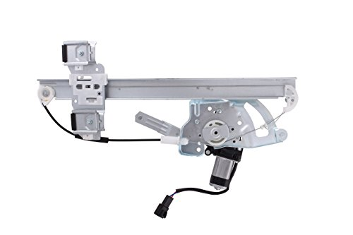 HANSUN 8802-0272 Pontiac Bonneville Sedan  Front Driver Replacement Power Window Regulator and Motor Assembly (Bonneville Window Pontiac Motor)