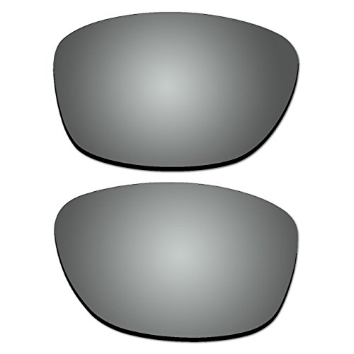 Replacement Polarized Lenses for Oakley Pit Bull Sunglasses (Titanium - Pitbull Sunglasses