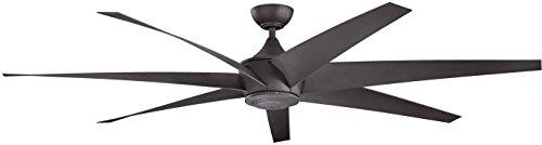 Kichler 310115DBK 80 Inch Lehr Fan