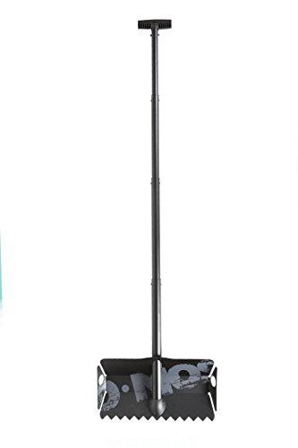 DMOS Stealth Shovel – Professional Quality, Packable Tool (Black) (Ski Terrain Park)