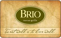 Brio Tuscan Grille Gift Card