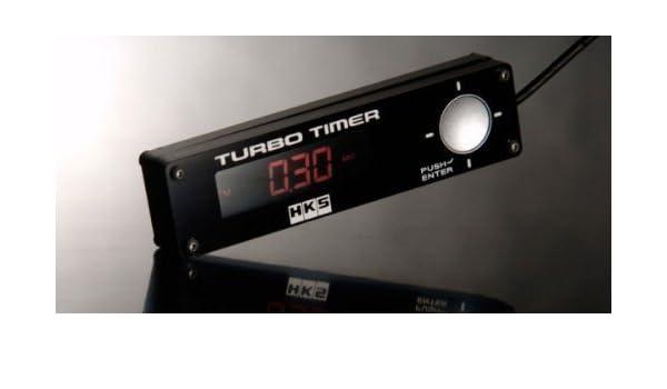Amazon.es: YOSA-UK HKS Rendimiento HKS Type-0 Turbo Timer con LED blanco Luz De Fondo - Rojo