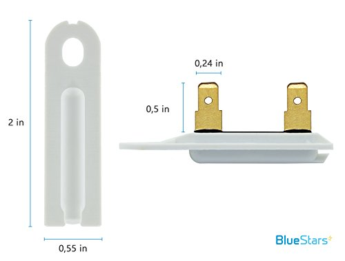3392519 dryer thermal fuse replacement part by blue stars