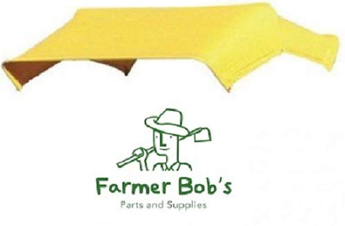 Yellow Buggy Top Replacement Canvas Cover Only For 3 Bow 48 Umbrella Frame JBT3 Farmer Bob s Parts 405592