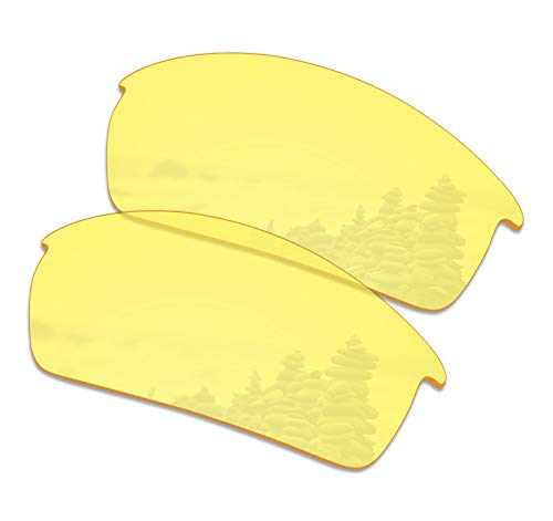 SmartVLT Men's HD Yellow Replacement Lenses for Oakley Bottlecap ()
