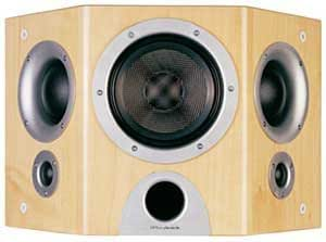 wharfedale opus 2 surround speaker pair piano finish home audio theater. Black Bedroom Furniture Sets. Home Design Ideas