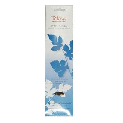 Triloka Premium Aromatherapy Incense - Cedar Lavender