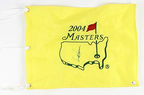 Arnold Palmer Signed 2004 Masters Flag JSA