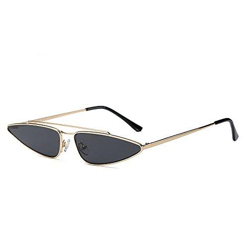 Small Grey Cat Sun Vintage UV Anti Unique Glasses Fashion Retro Eye Women Sunglasses BTqxT7a
