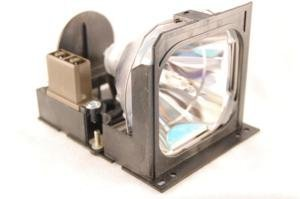 Mitsubishi VLT-X70LP replacement projector lamp bulb with housing - high quality replacement lamp