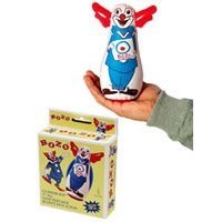 Rocket USA Bozo the Clown 7 Inch Bozo Bop Bag (Clown Inflatable)