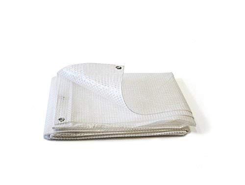lona transparente e impermeable 4/x 6/m lona para madera Lona 170/g//m/²